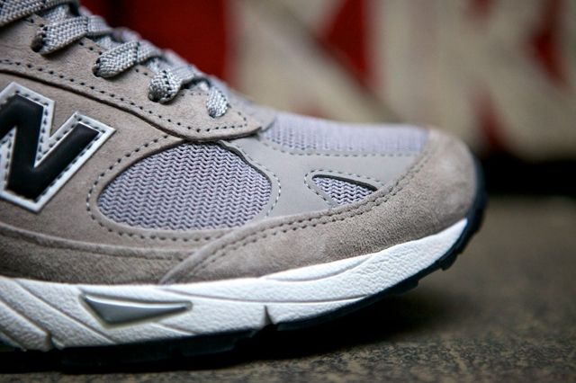 New Balance 991 Made In Usa Grey Black 5