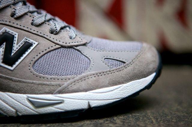 New Balance 991 Made In Usa Grey Black 5