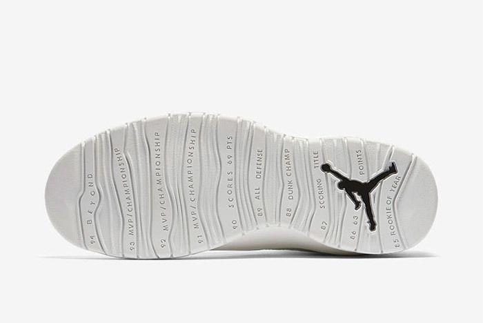 Air Jordan 10 Im Back Summit White Black 10