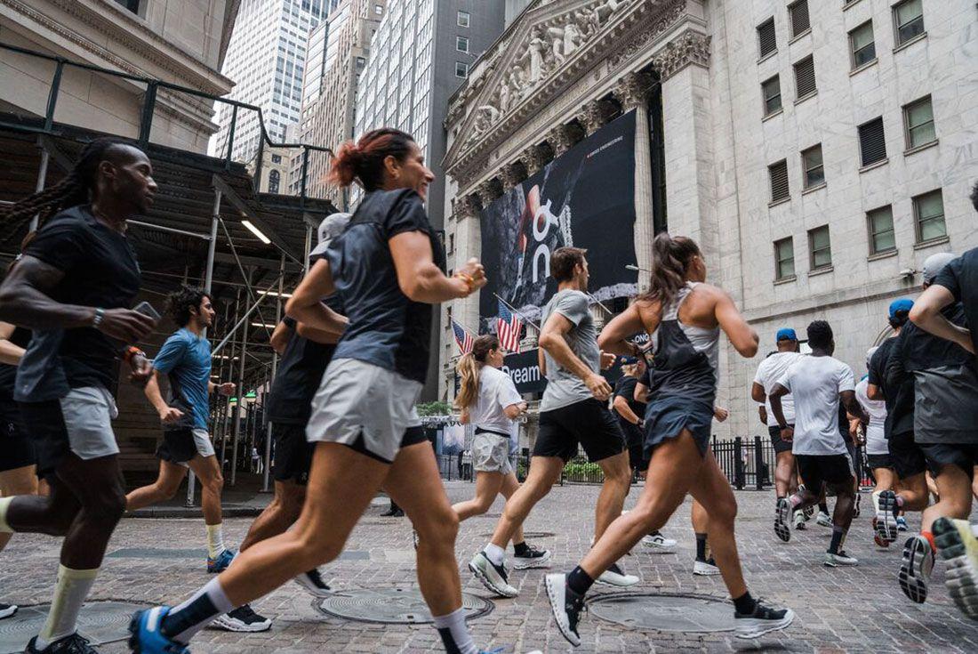On Running New York Stock Exchange ONON