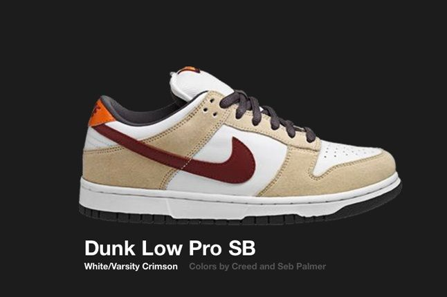 Nike Dunk Low Sb White Varsity Crimson 2006 1