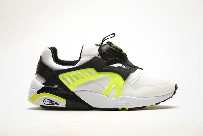 Puma Disc Blaze Safety Yellow Feature
