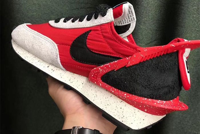 Undercover Nike Daybreak Red Close Up