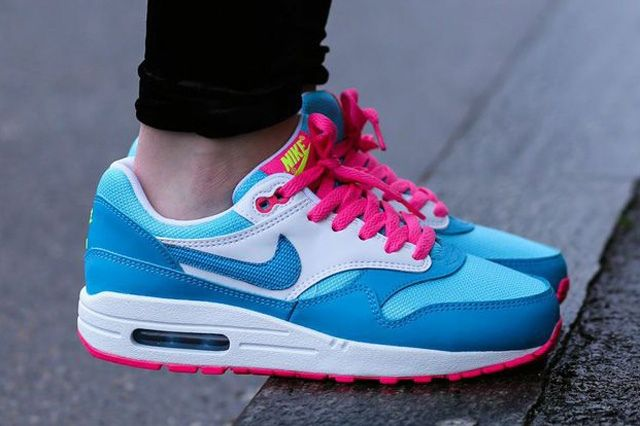Nike Air Max 1 Clear Water Pink Power 1
