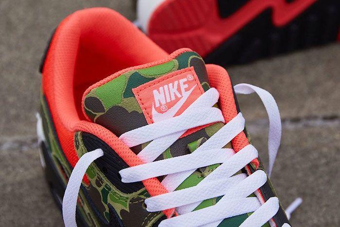 Nike Air Max 90 Duck Camo Tongue
