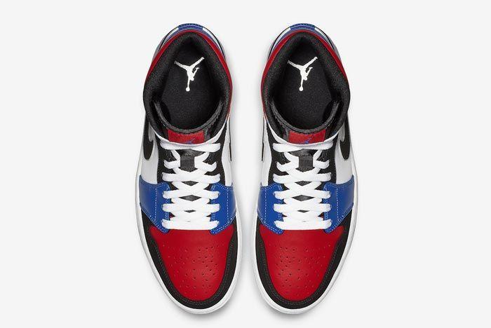 Air Jordan 1 Mid Top Three 4