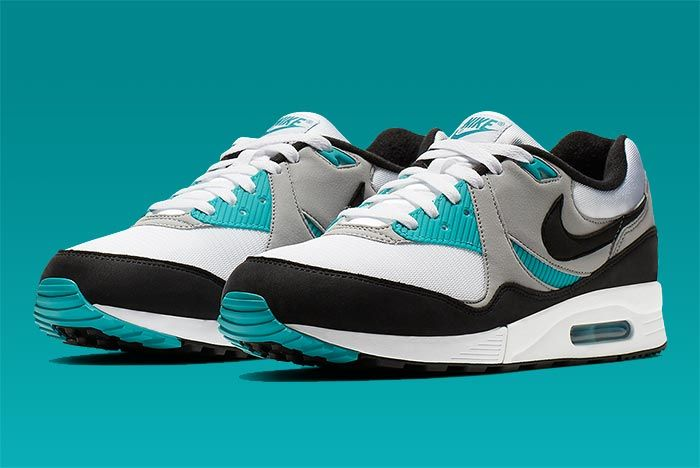 Nike Air Max Light Teal Three Quarter Shot