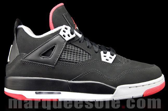 Air Jordan 4 Bred (Gs) - Sneaker Freaker