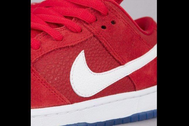 Nike Sb Dunk Low Challenge Red White University Blue Swoosh 1