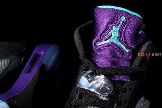Air Jordan 5 Aqua Tongue 1