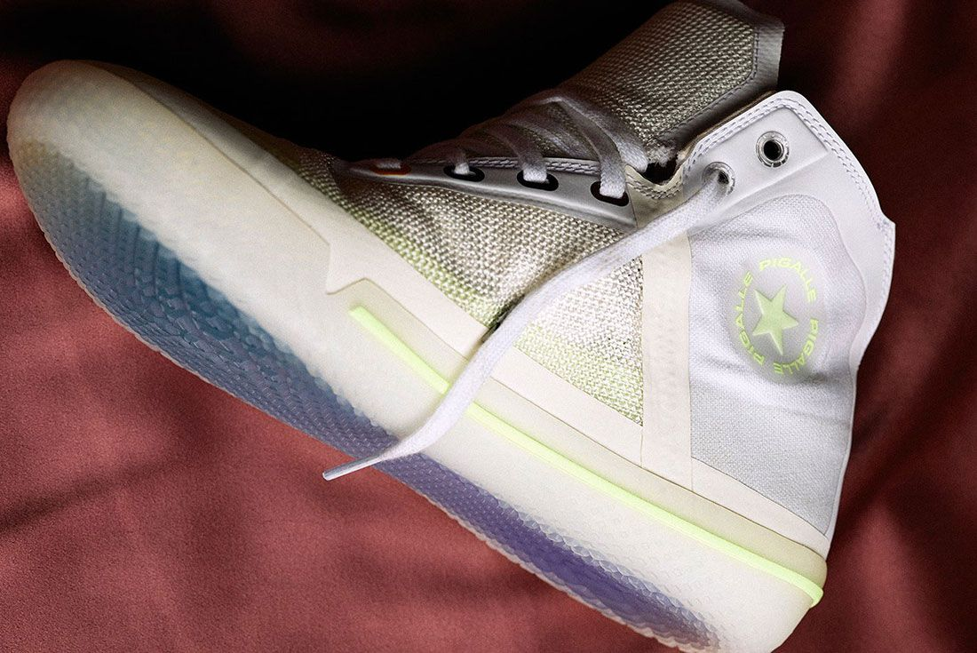 Pigalle Paris Converse All Star Pro Bb Release Date 2 Side
