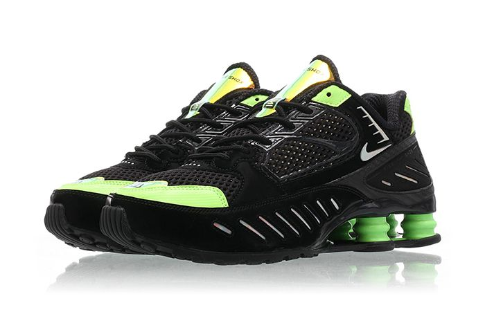 Nike Shox Enigma Lime Blast Ck2084 002 Release Date Pair
