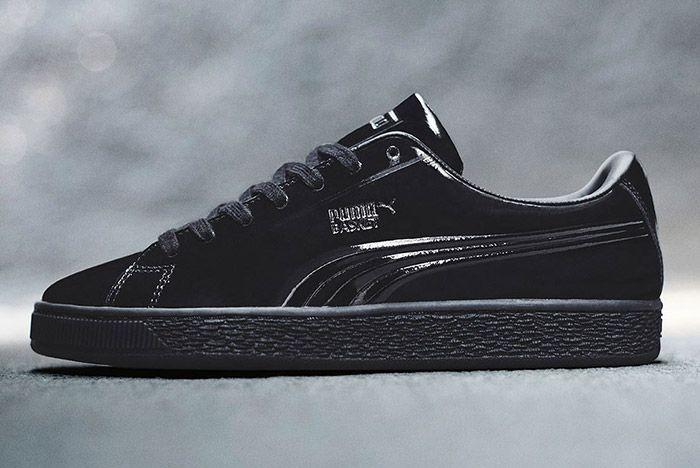 Puma Basket Pro Patent Pack Black 1