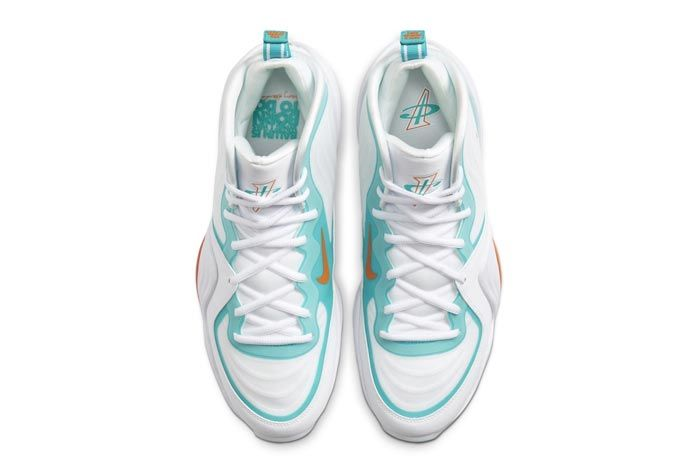 Nike Air Penny 5 Miami Dolphins Top