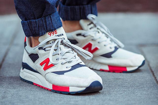 Jcrew New Balance 998 Made In Usa Independence Day