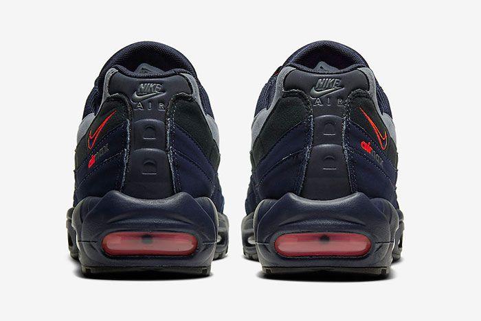 Nike Air Max 95 Cw7477 400 Heel Shot