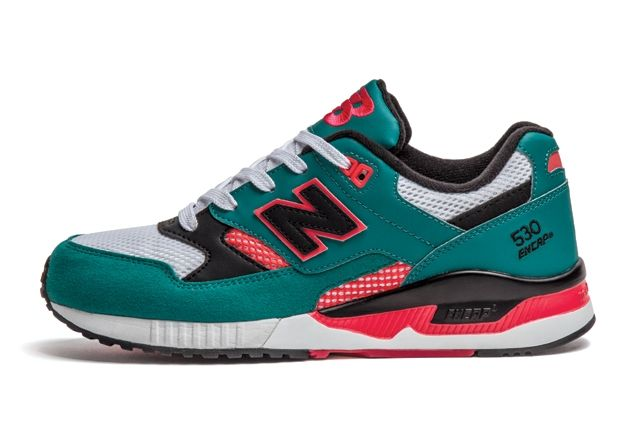 New Balance 530 Wmns Teal Orange 1