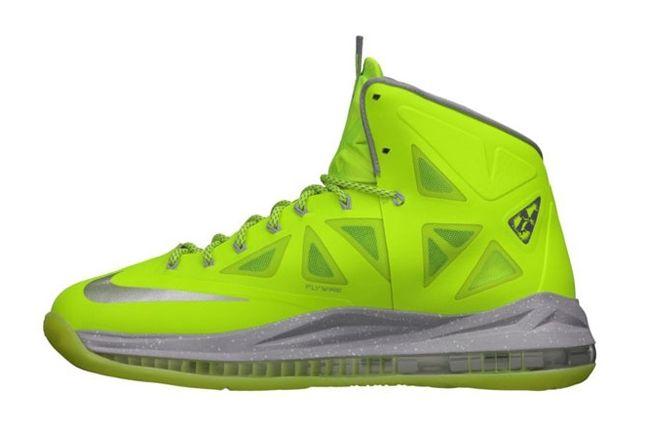 Nike Lebron X Volt Profile 1