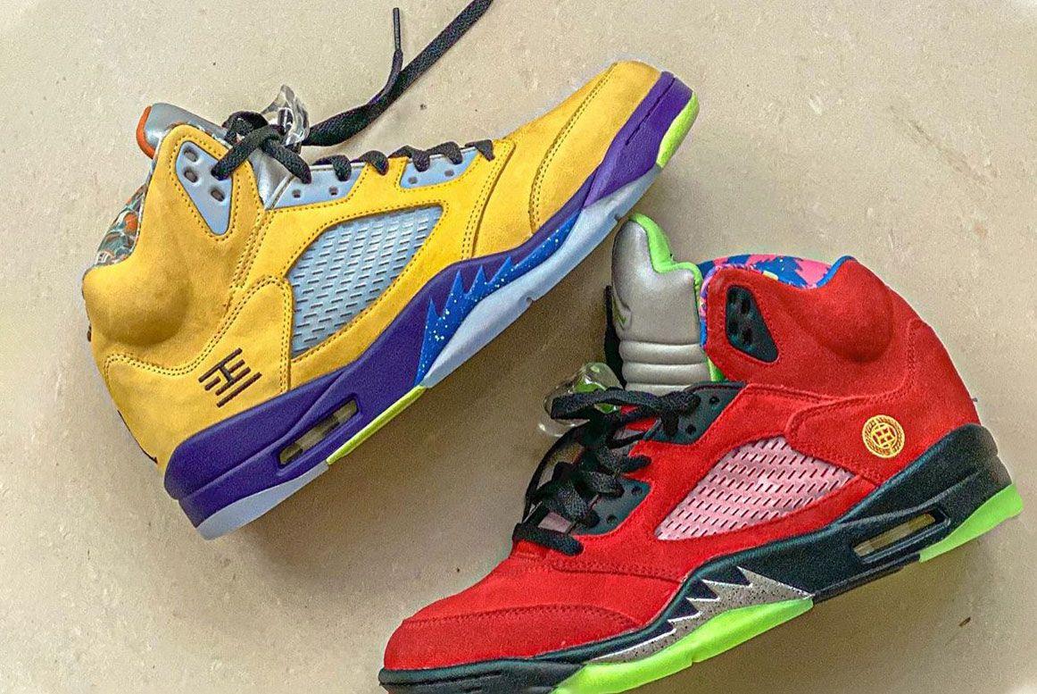 Air Jordan 5 'What The'