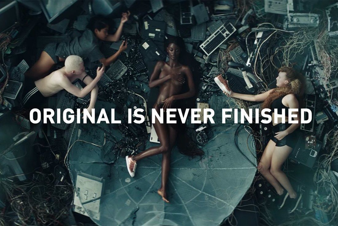 Adidas Releases Original Is Never Finished