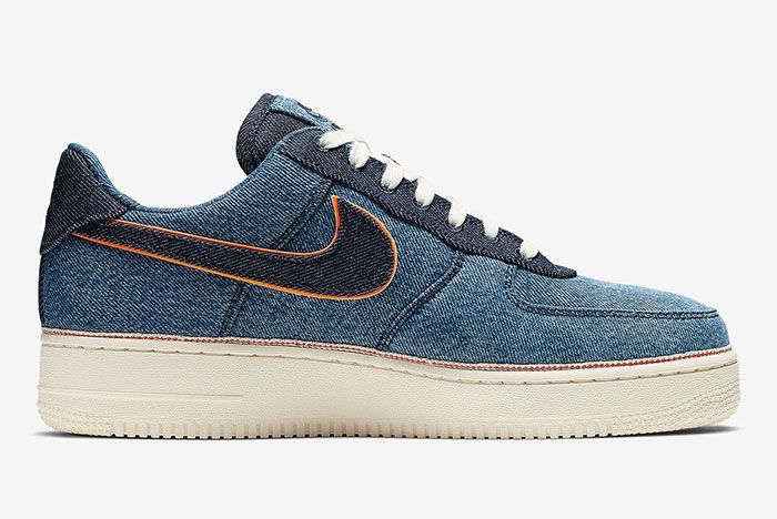 Nike Air Force 1 Denim Right