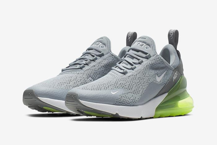 Nike Air Max 270 Womens Lime Blast Pair