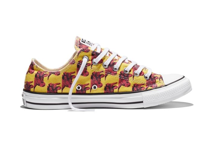 Converse Chuck Taylor All Star Andy Warhol Floral Pair 7