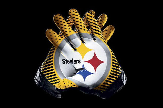 Pittsburgh Steelers Glove 1