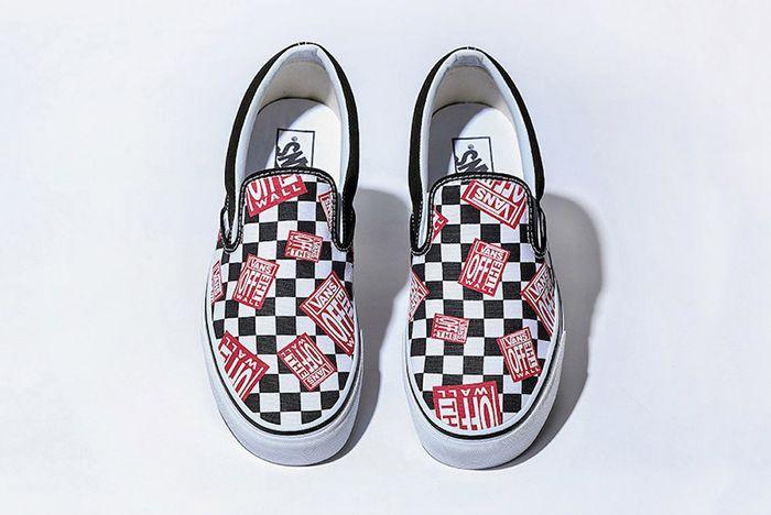 Billys Vans Slip On Off The Wall Check Release Date Sneaker Freaker