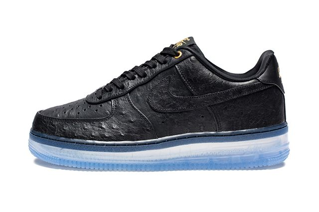 Nike Air Force 1 Cmft Black Ostrich4