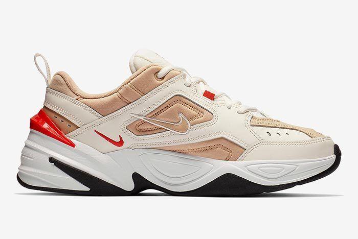 Nike M2 K Tekno Sailhabanero Red 4