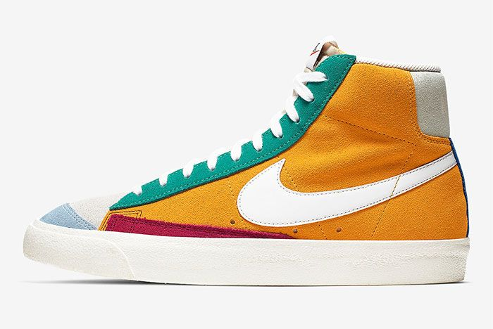 Nike Blazer Vintage Ci1167 600 Lateral Side Shot