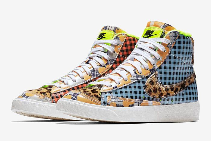 Nike Blazer Mid Gel Patterns Cj4239 491 5
