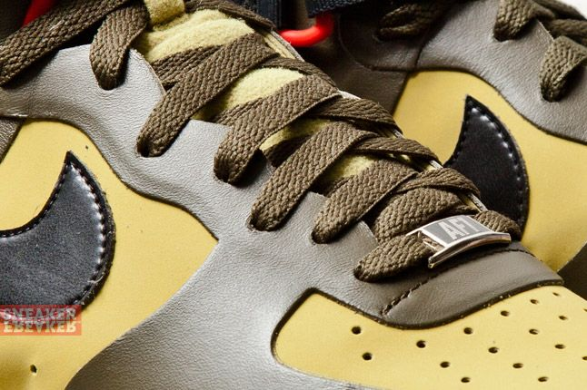 Nike Lunar Force 1 Ns Hi Prm Parachute Gold Black 2 Det