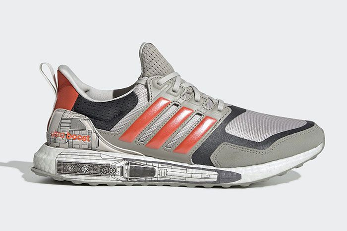 Star Wars Adidas Ultra Boost X Wing Release Date Side