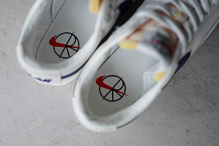 Nike Sb Polar Skate Co Blazer Low Insoles