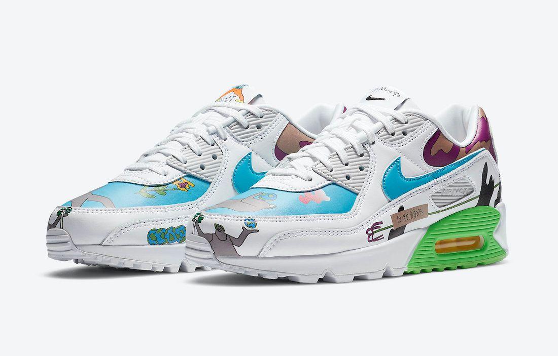 Ruohan Wang Nike Air Max 90