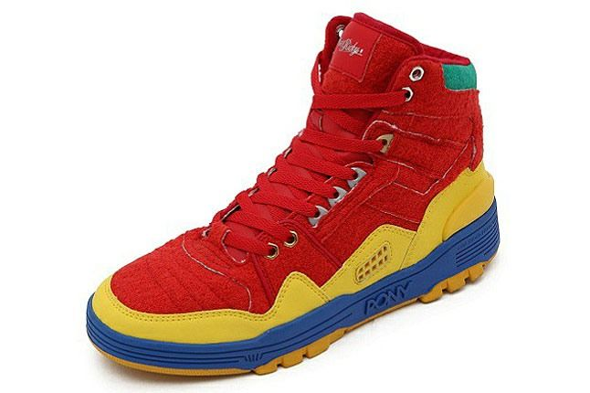 Pony Shoes Dee Ricky Red 1