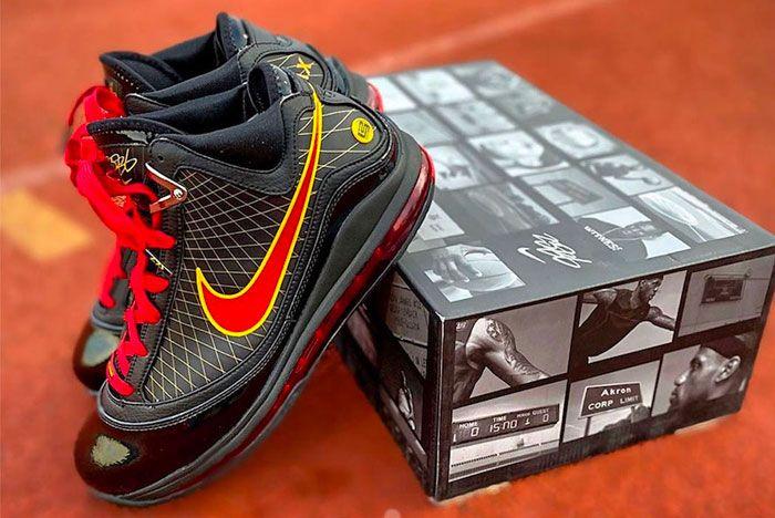 Nike Lebron 7 Fairfax Left