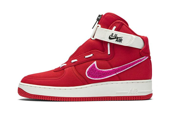 Emotionally Unavailable Nike Air Force Left