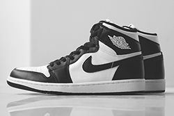 Air Jordan 1 Black White Thumb