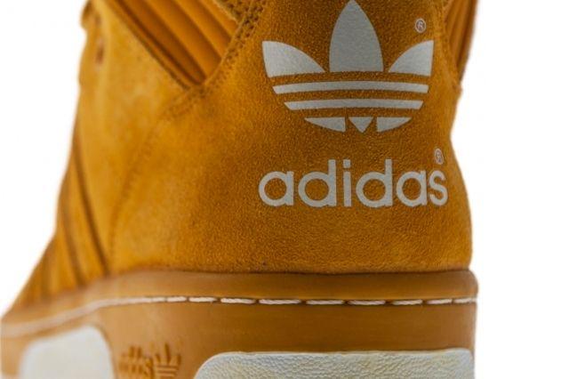 Adidas Originals Rivalry Hi Wheat Heel