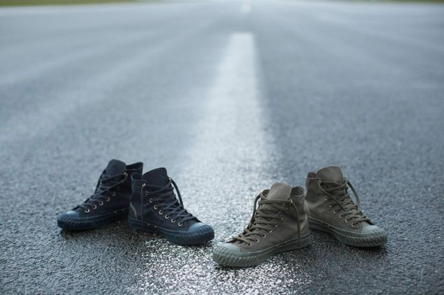 Nigel Cabourn Converse Group Collection Runway 1