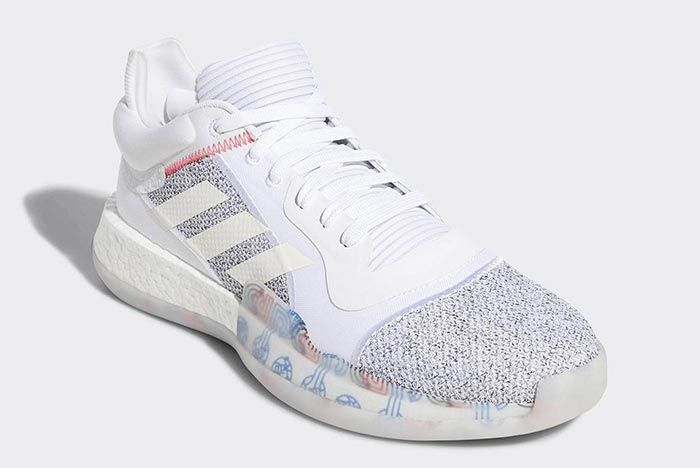 Adidas Marquee Boost White Low 1