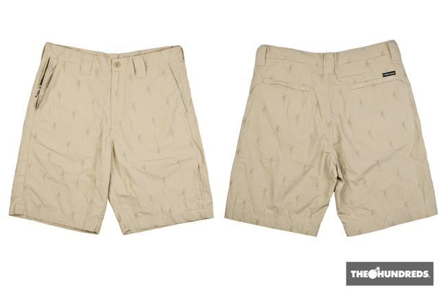 The Hundreds Illy Twill Shorts Khaki Sum10 1 1