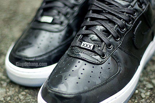 Nike Air Force One 1 Supreme Black Camo Dubre 1