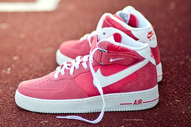 Nike Air Force 1 Mid Fusion Red 5