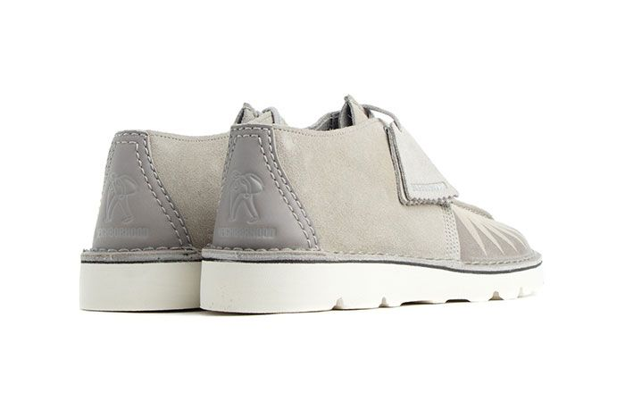 Neighborhood Clarks Desert Trek Rear Angle
