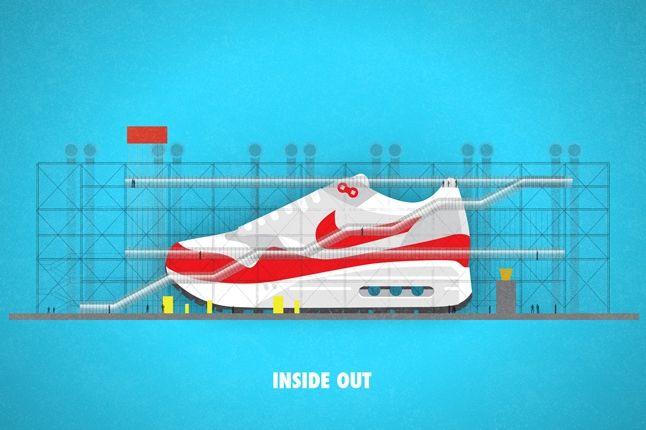 Nike Matt Stevens Airmax 87 Inside Out 1
