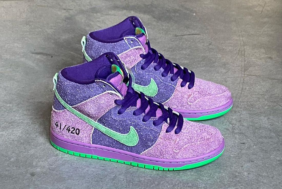 America Procesando Discriminación  Nike SB Dunk High 4/20 'Reverse Skunk' Releases Exclusively at Familia -  Sneaker Freaker
